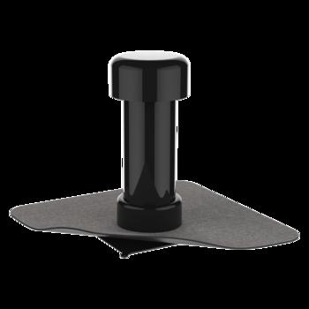 Wasserspeier mit PVC-Manschette, kastenförmig  Wasserspeier kastenförmig
