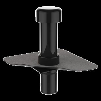 Wasserspeier mit der Sondermanschette, kastenförmig  Wasserspeier kastenförmig