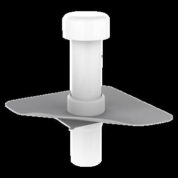 Kanalisationsentlüftung mit PVC-Manschette