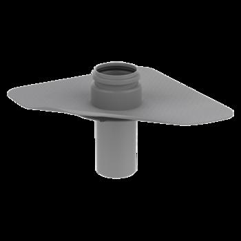 Dampfsperre-Durchführung mit PVC-Manschette