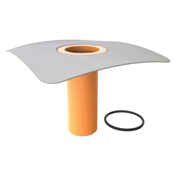 Aufstockelement für Dachgullys mit PVC-Manschette