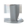 Dampfsperre-Durchführung mit Bitumen-Manschette  Dampfsperre-Durchführung