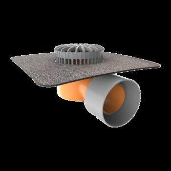 Dampfsperre-Durchführung XL mit PVC-Manschette  Dampfsperre-Durchführung XL