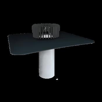Kies- und Randleiste für bekieste Dächer und für die Dachflächen mit Plattenbeläge aus Aluminium  Leiste aus Aluminium