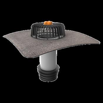 Sanierungsgully mit Bitumen-Manschette  senkrechter