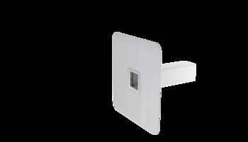 Notüberlauf mit PVC-Manschette, kastenförmig
