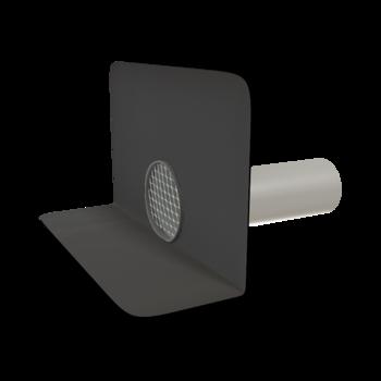 Balkongully mit der Sondermanschette, horizontaler, beheizbar  horizontaler, beheizbar
