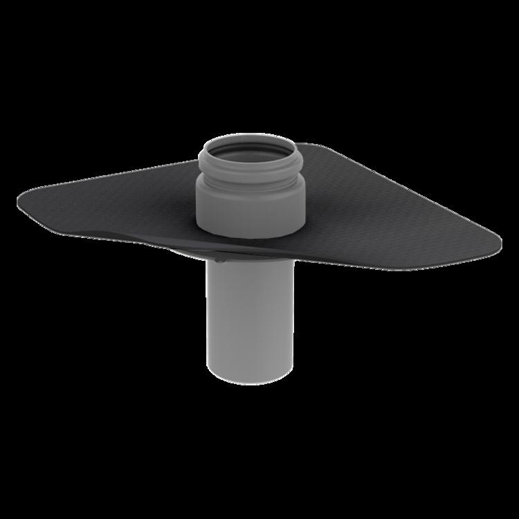 Dampfsperre-Durchführung mit der Sondermanschette