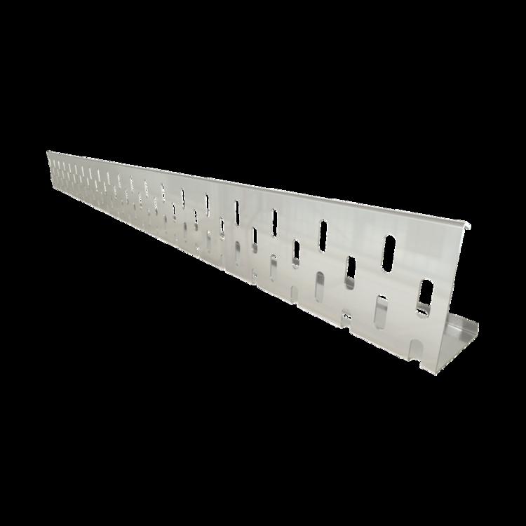 Kies- und Randleiste aus Aluminium