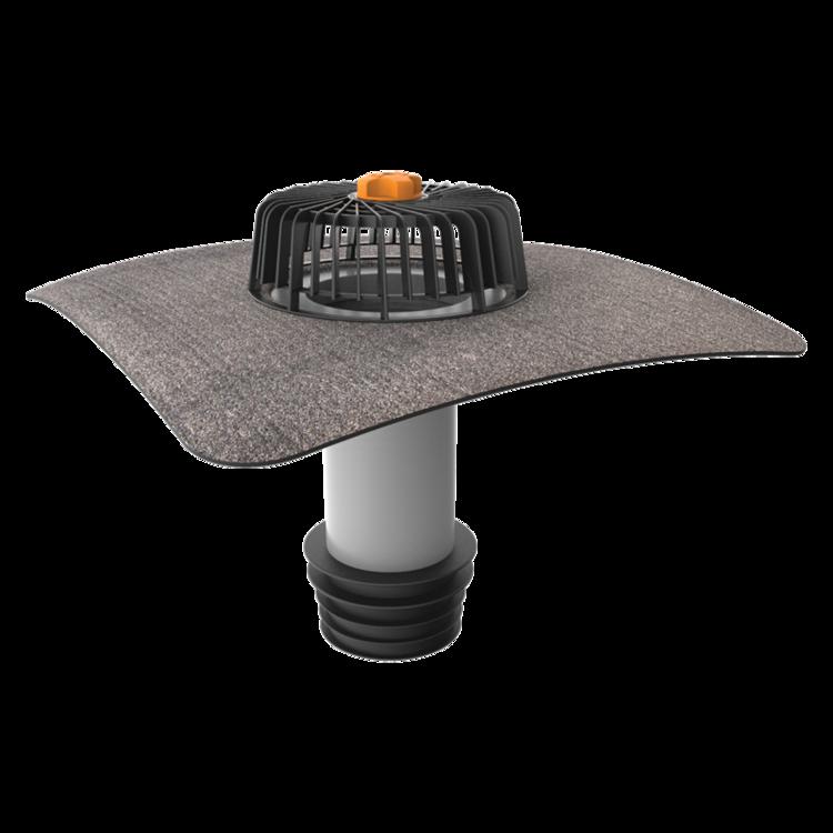 Sanierungsgully mit Bitumen-Manschette